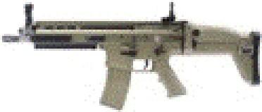 【JPバージョン】CyberGun FN SCAR-L GBB FDE