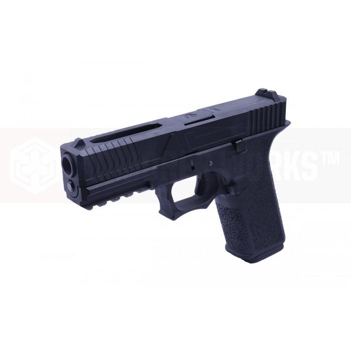 AW CUSTOM VX7300 G17-TYPE GBB/WidePort (Black)
