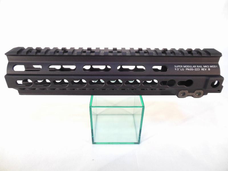 DYTAC Gスタイル SMR MK5 KeyMod 9.5インチ レールシステム 各社GBB/SYSTENA PTW対応 (Dark Earth/Black)