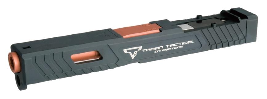 VOLANTE Airsoft 東京マルイ G19対応 TTIタイプ カスタムスライド(Stratosブローバックユニット搭載)