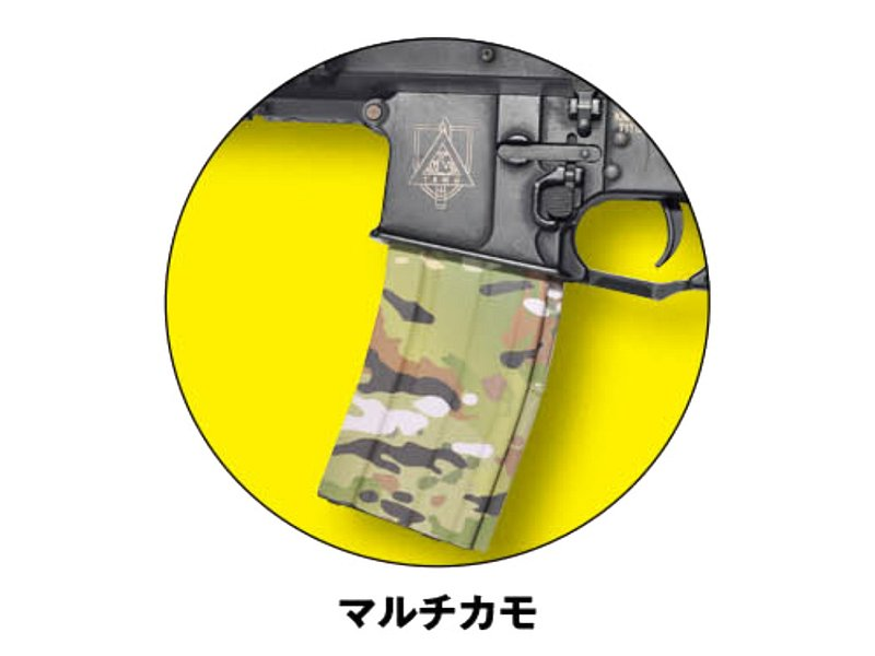 GunWrap Film/M4マガジン用 マルチカムタイプ (2枚入り)