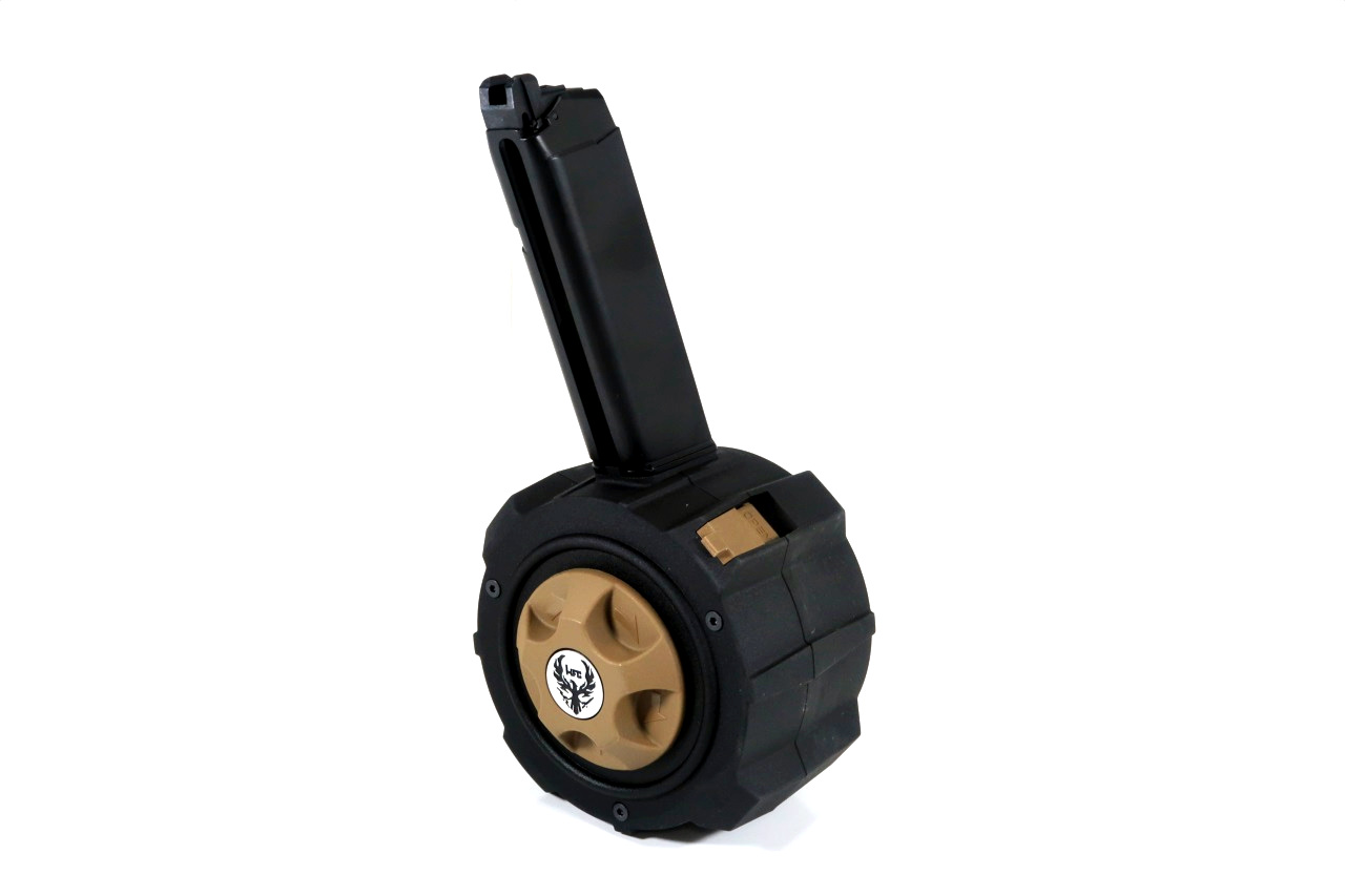 HFC HD Drum Mag GBBハンドガン用 145連ドラムマガジン