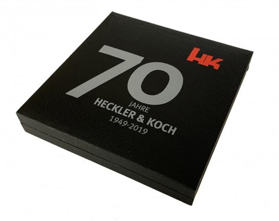 Heckler & Koch 70th Anniversary 記念メダル (直径55mm)