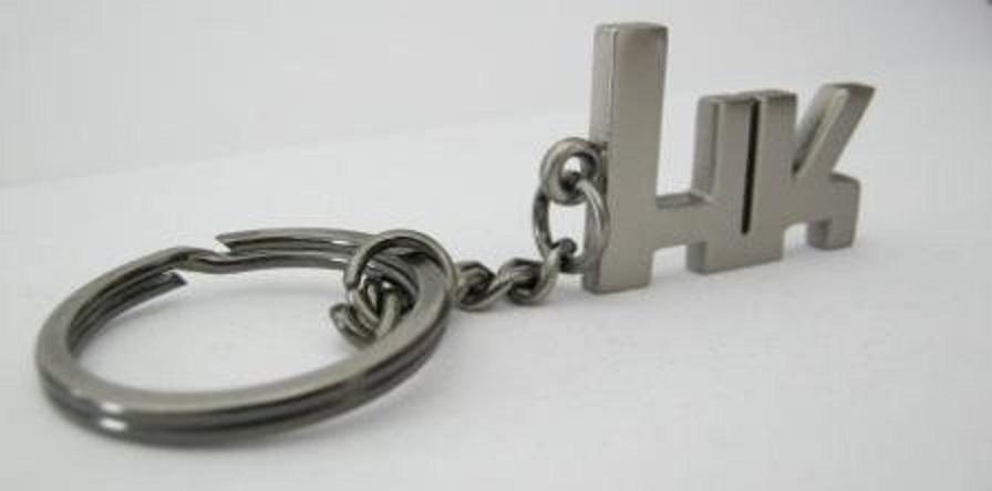 Heckler & Koch HKロゴキーホルダー (25x20x4mm)