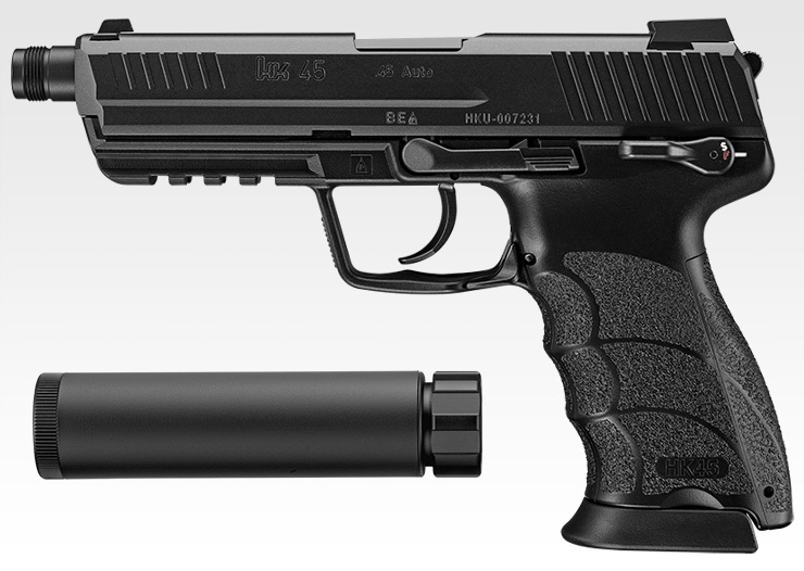 東京マルイ GBBハンドガン HK45タクティカル (Black)