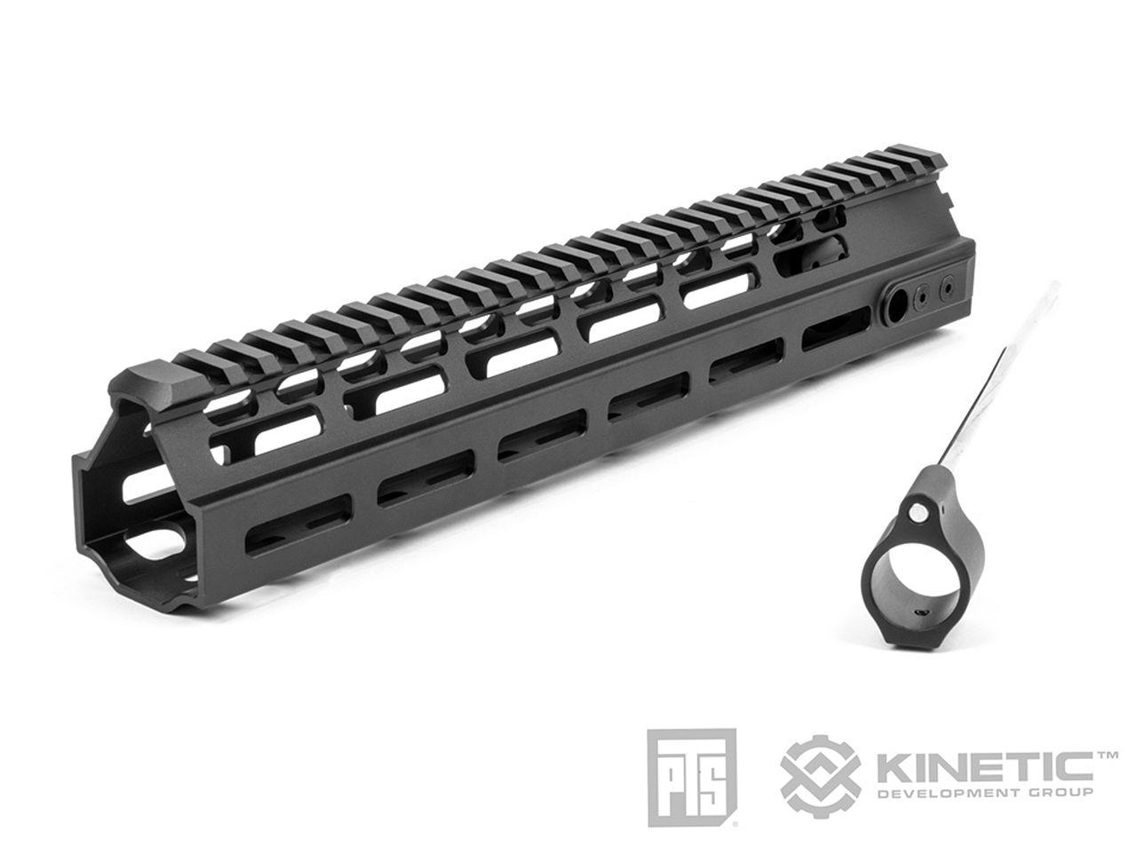 PTS Kinetic MREX-AR M-Lok モジュラーレイルハンドガード 11in (Black)