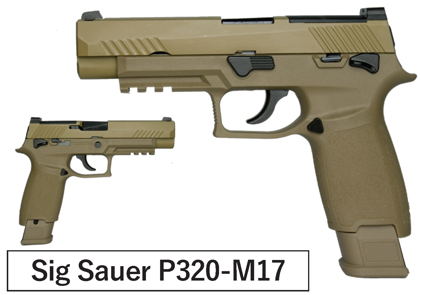 AEG(ASIA Electric Guns) SIG P320-M17 ガスブローバック TAN