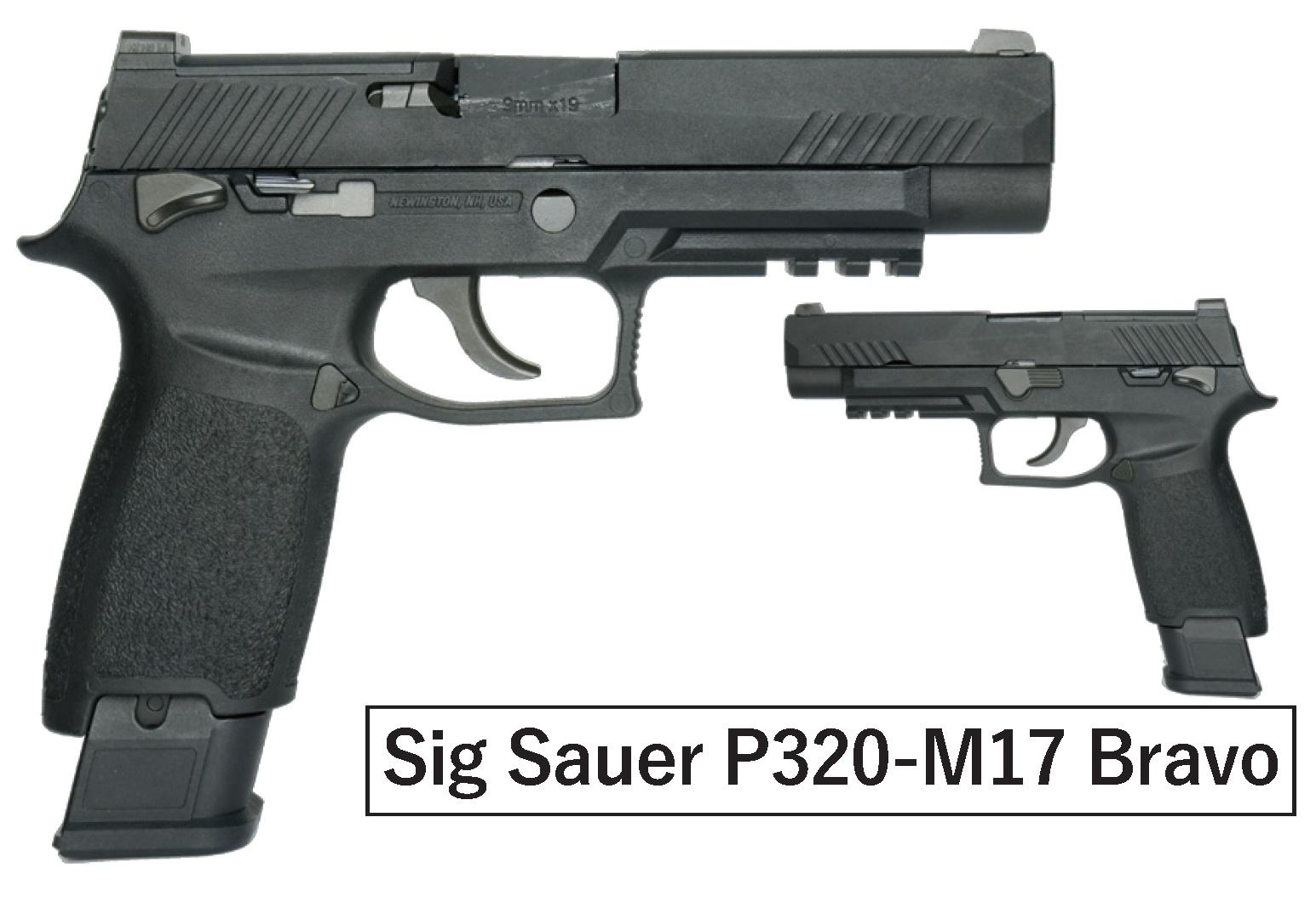 AEG(ASIA Electric Guns) SIG P320-M17 Bravo ガスブローバック BK