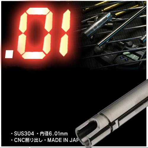 PDI 01インナーバレル 内径6.01mm SUS製 東京マルイ GBBハンドガン対応