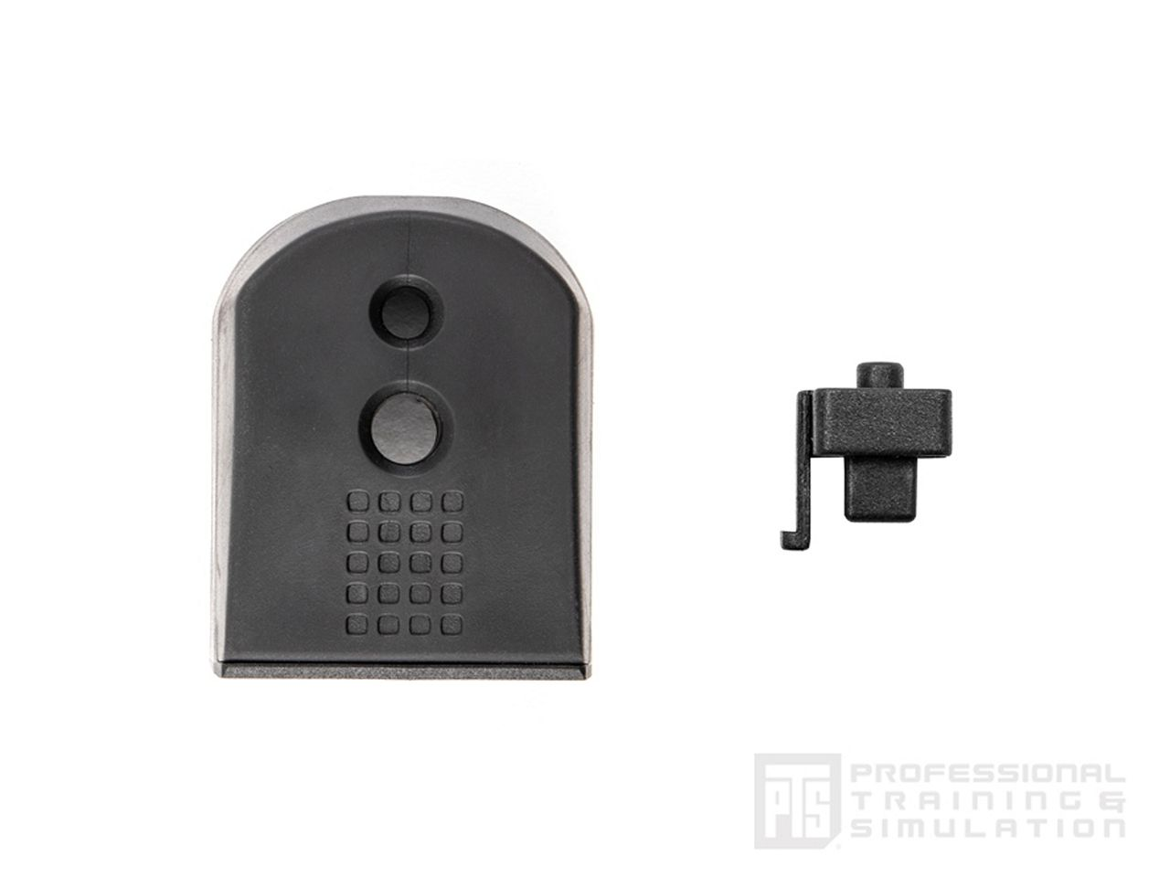 PTS Enhanced ピストルショックプレート HI-CAPA/3ピースパック (BK)