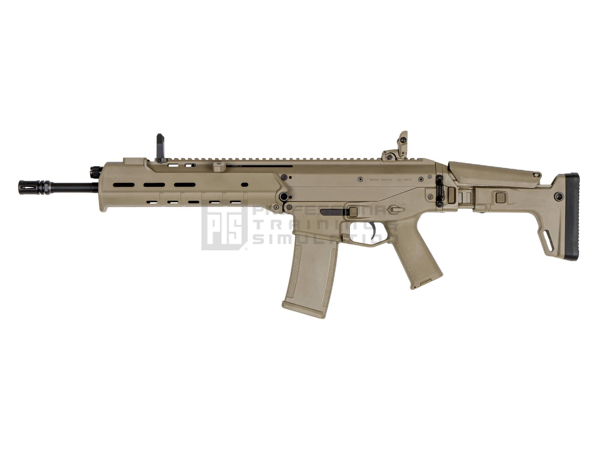 PTS Masada GBB Rifle - DarkEarth (ガスガン/JapanVersion)