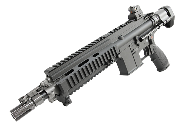 【LV2カスタム】 WE HK416C GBB (オープンボルトVer.)