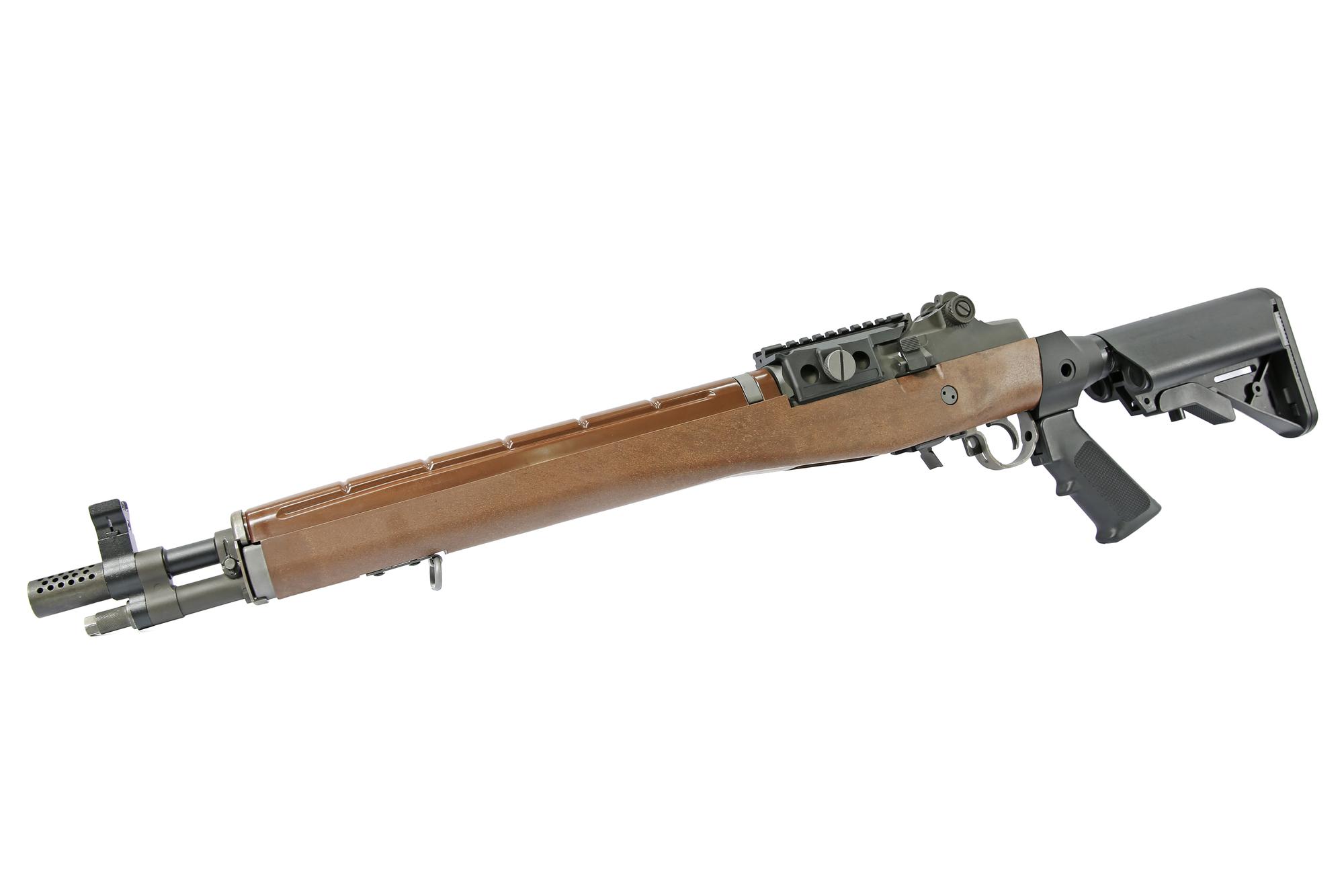 【LV3カスタム】WE M14 GBB SFAマーキング(スチールアッパーレシーバー/ウッドストック) 2017Ver.