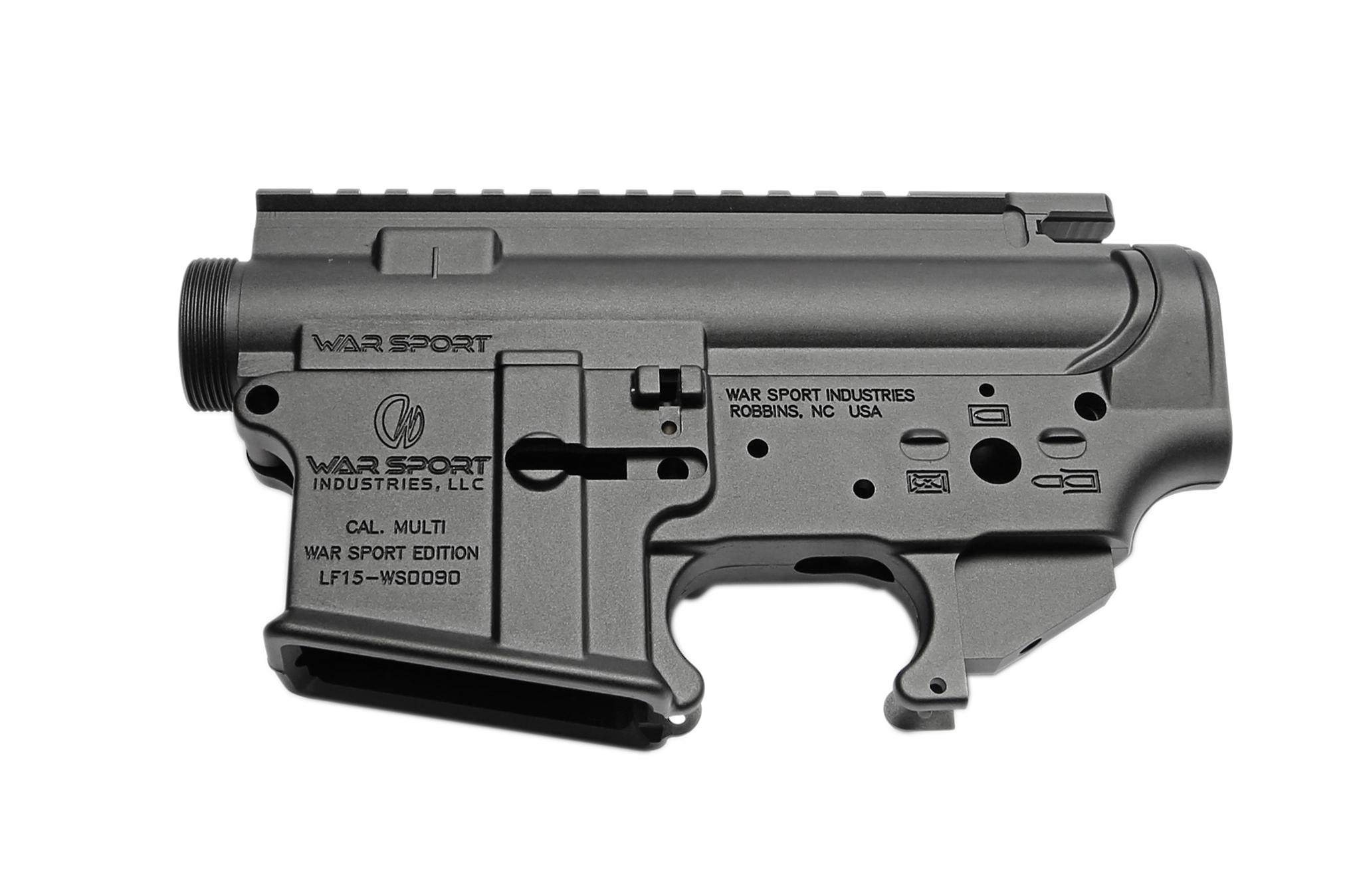 RA-TECH 鍛造 7075アルミレシーバーセット GHK M4 GBB用(WAR SPORT LVOA Ver.)(RAG-GHK--027)