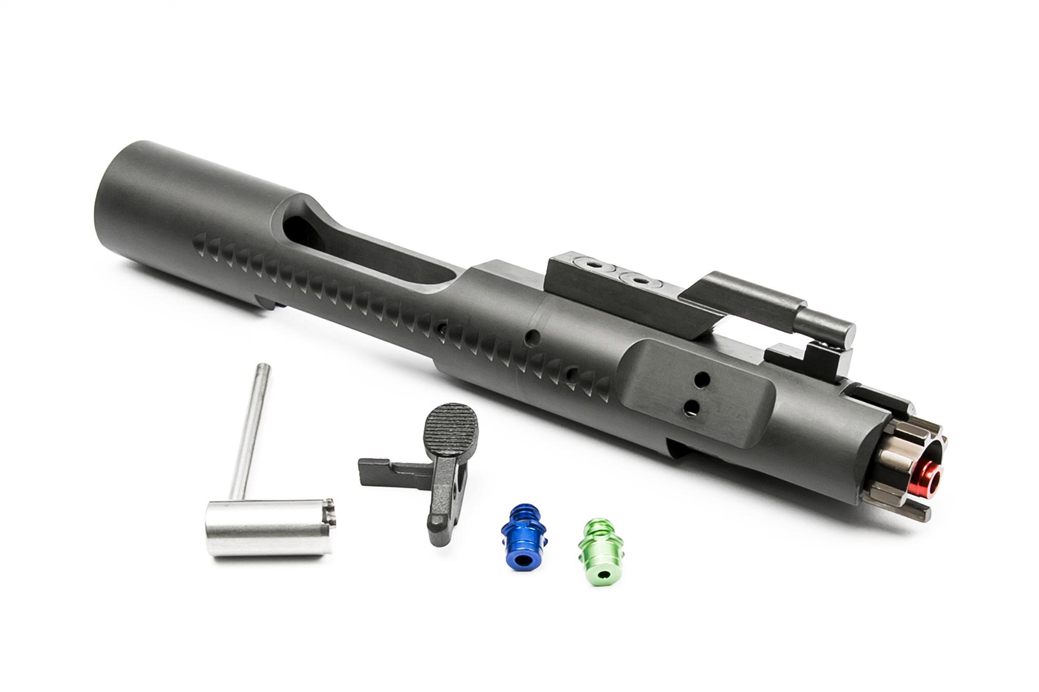 RA-TECH スチールCNC コンプリートボルトキャリア マグネティックロックノズルVer. WE M4/M16対応 BK