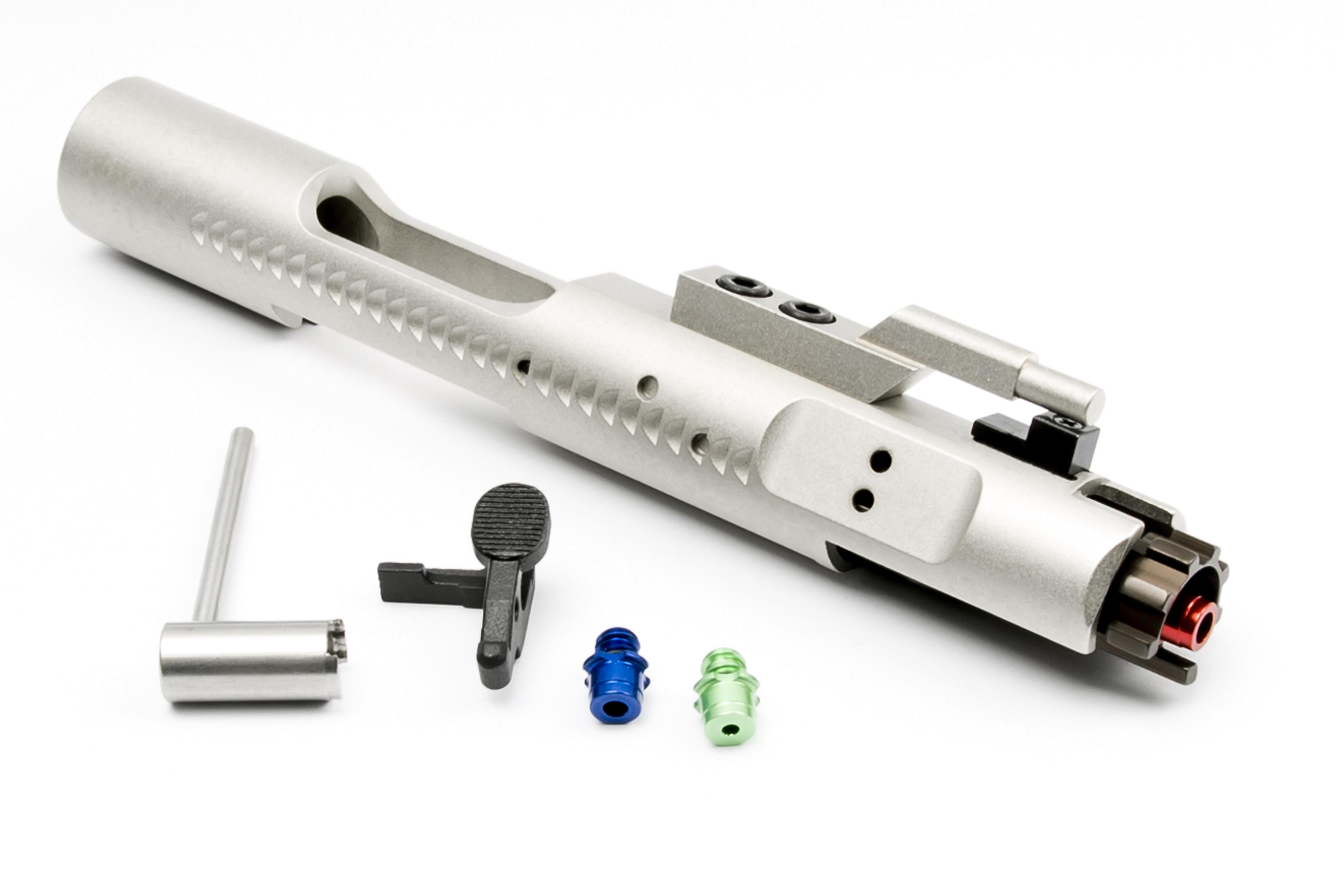 RA-TECH スチールCNC コンプリートボルトキャリア マグネティックロックノズルVer. WE M4/M16対応 SV