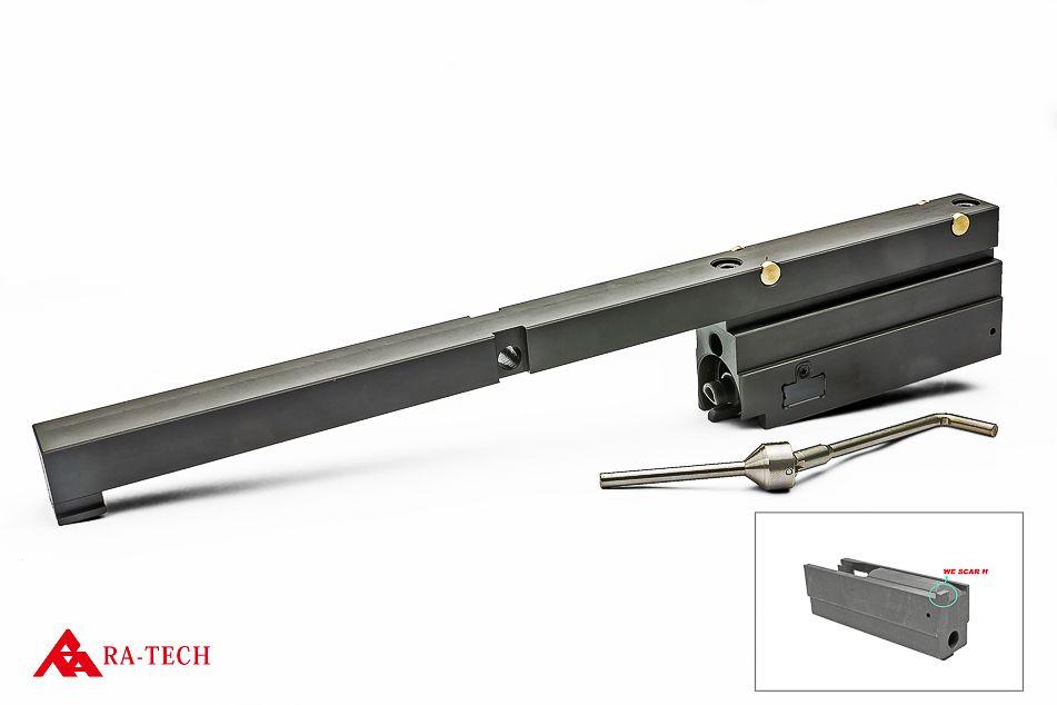 RA-TECH CNC スチールボルトキャリアセット + NPAS内蔵 強化樹脂ノズルセット WE SCAR-H対応 (RAG-WE--294)