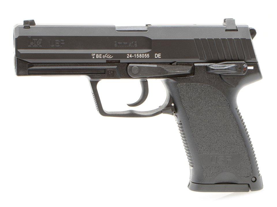 Umarex/VFC H&K USP 9mm GBBピストル CerakoteLimited (BK)