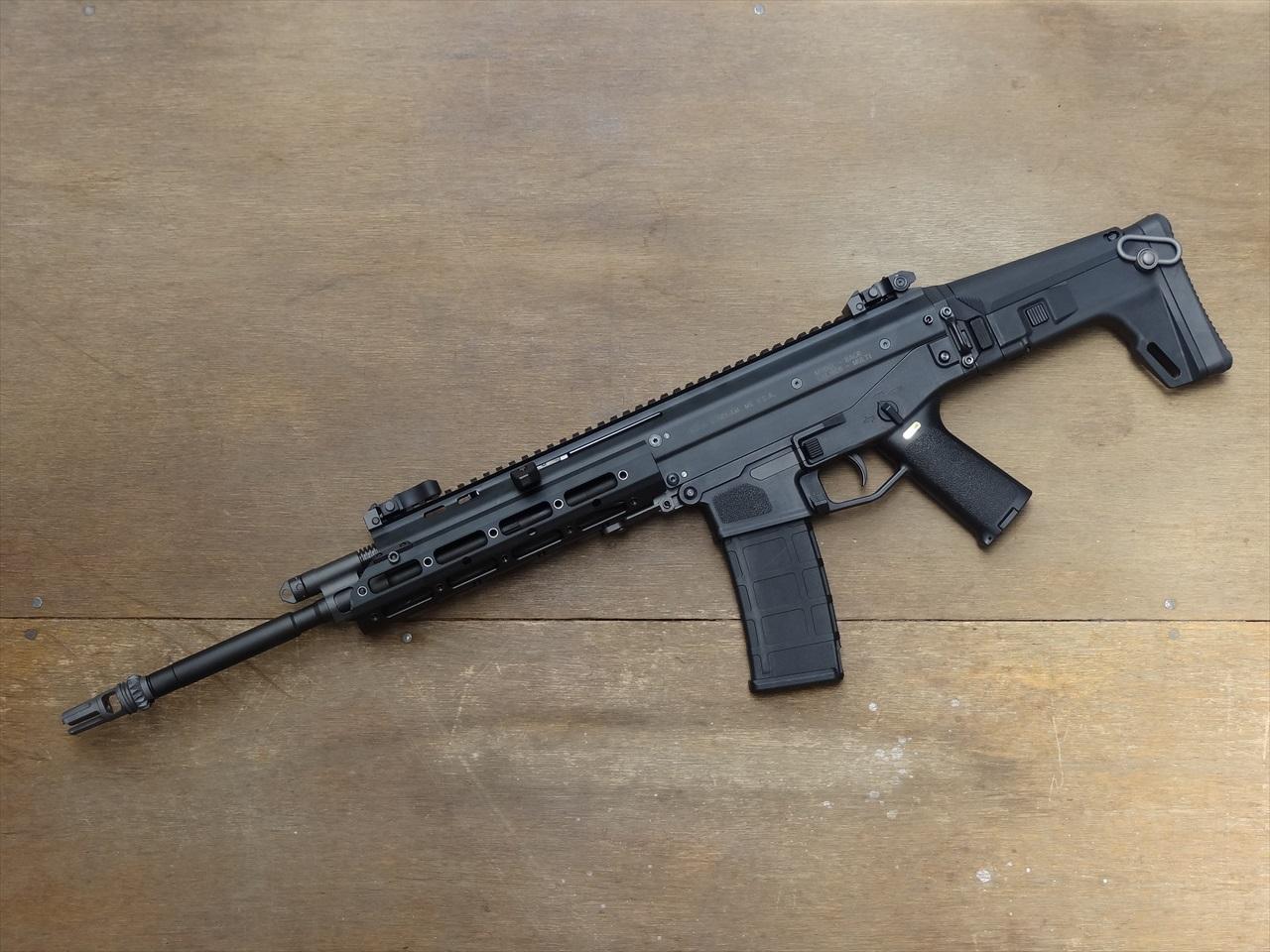 【NPAS】 WE MSK GBB オリジナルマーキングVer.(Bushmaster ACR) BK