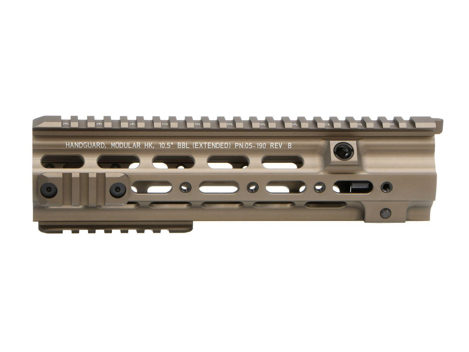 TaskForce405 Geissele SMR 10.5in レイルハンドガード (Umarex/VFC HK416用)
