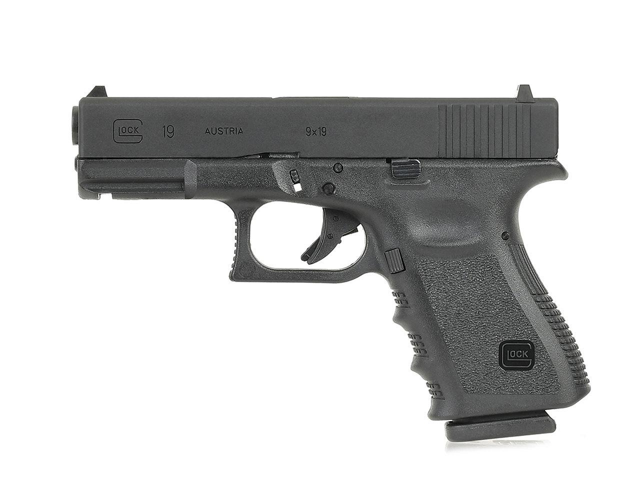 Umarex GlockAirsoft G19 Gen.3 GBBハンドガン (BK)