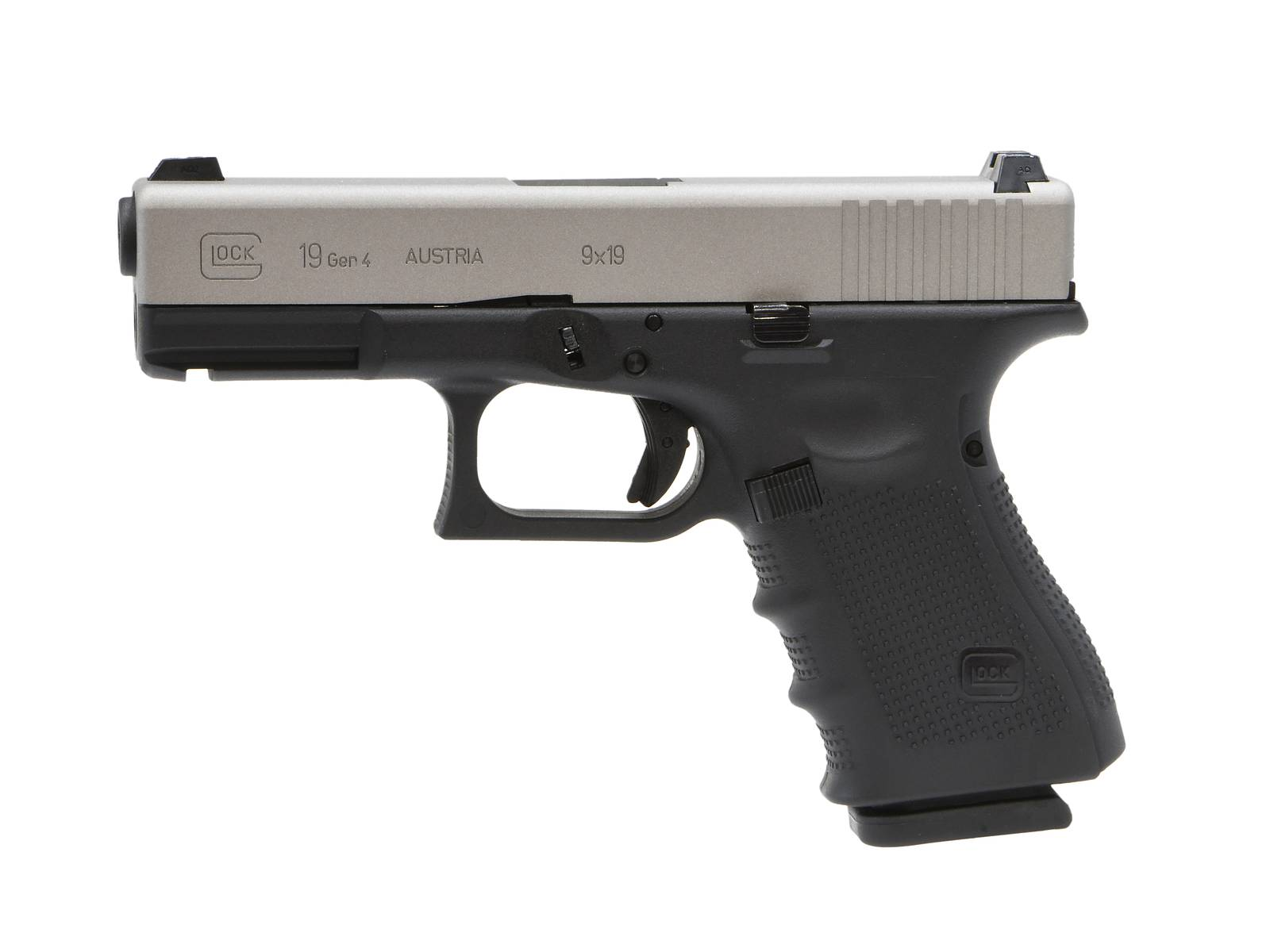 Umarex GlockAirsoft G19 Gen.4 GBBハンドガン (SavageStainless) [Cerakote Limited]