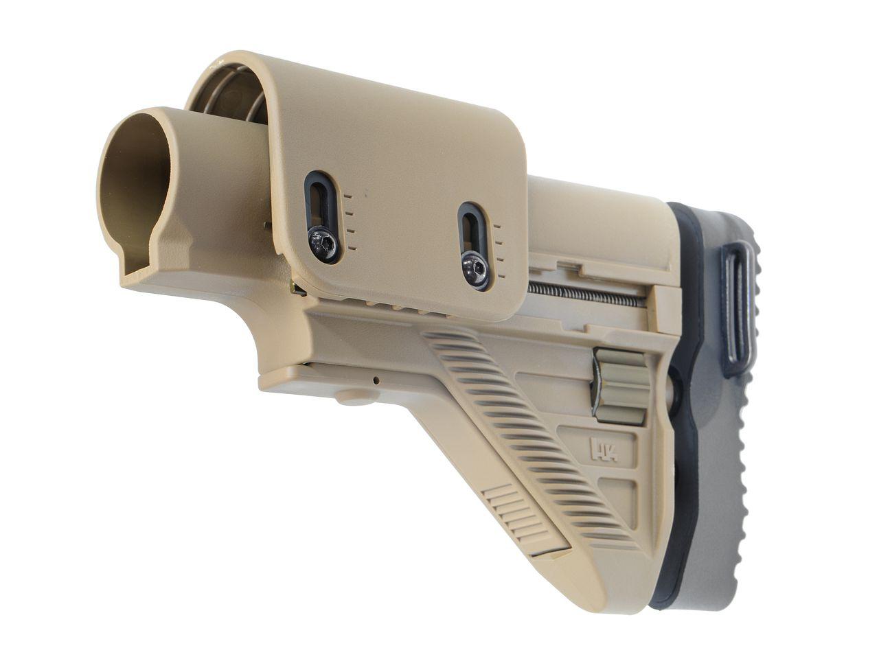 VFC/Umarex  HK417/G28 スナイパーストック/アジャスタブルチークレスト