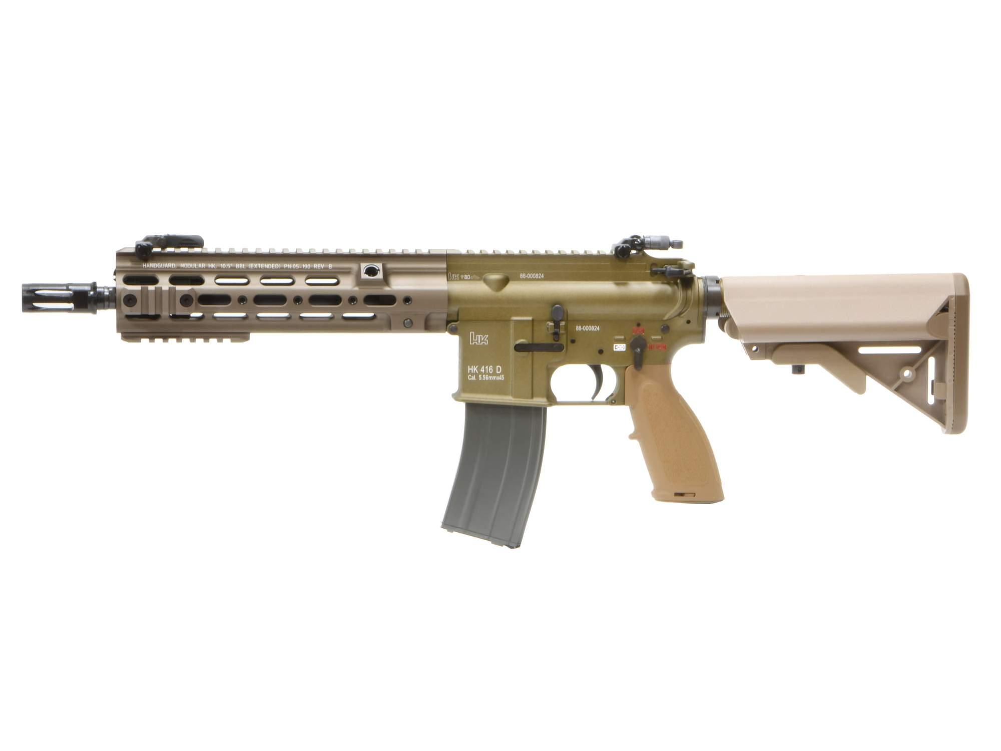 【JPバージョン】 VFC/Umarex H&K HK416 CAG GBBR (JPver./HK Licensed) RAL8000