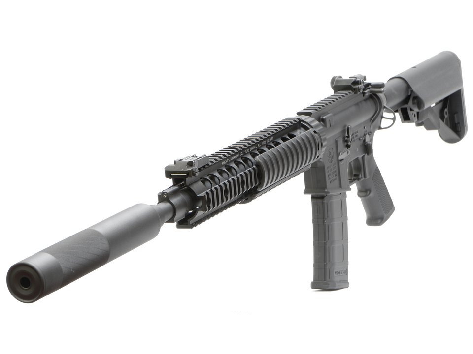 VFC Colt Mk12Mod1 GBBR LMTStock/OPSサプレッサー付 DX (JPver./COLT Licensed) 2015ver.