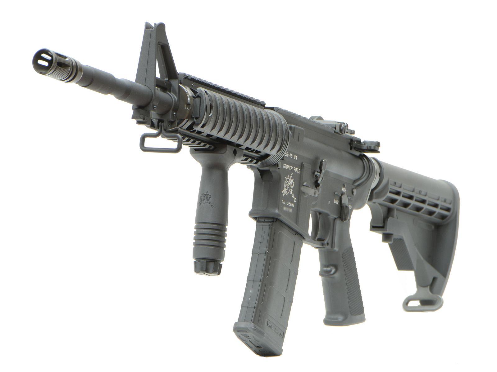 VFC KAC SR16 RetractStock GBBR (JPver./Knight's Licensed)