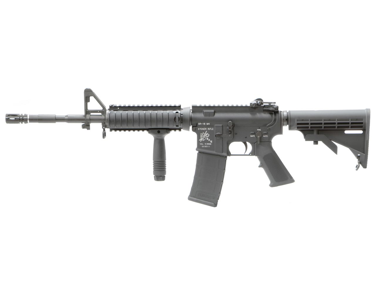 VFC KAC SR16 RetractStock GBBR DX (JPver./Knight's Licensed)