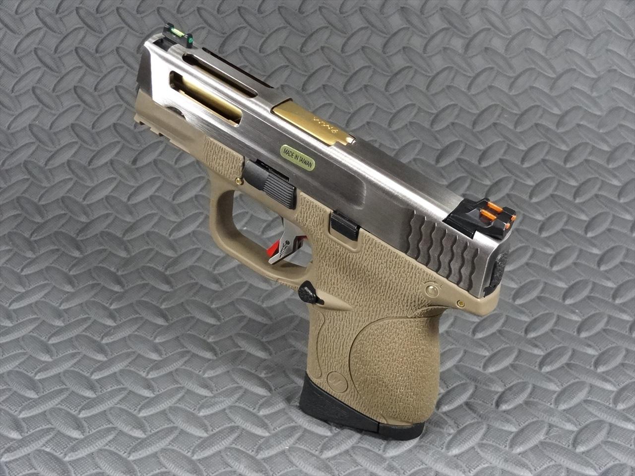 WE M&P Compact FORCE カスタム GBB (SVスライド)