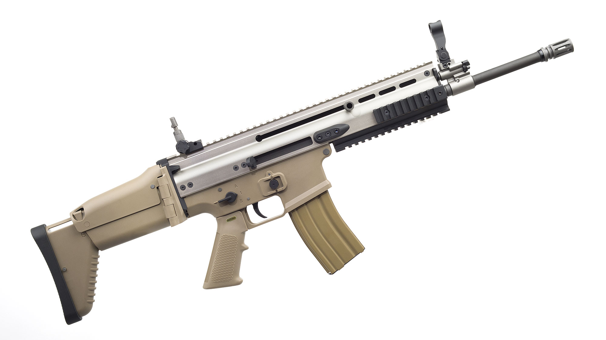 WE SCAR-L GBB TAN