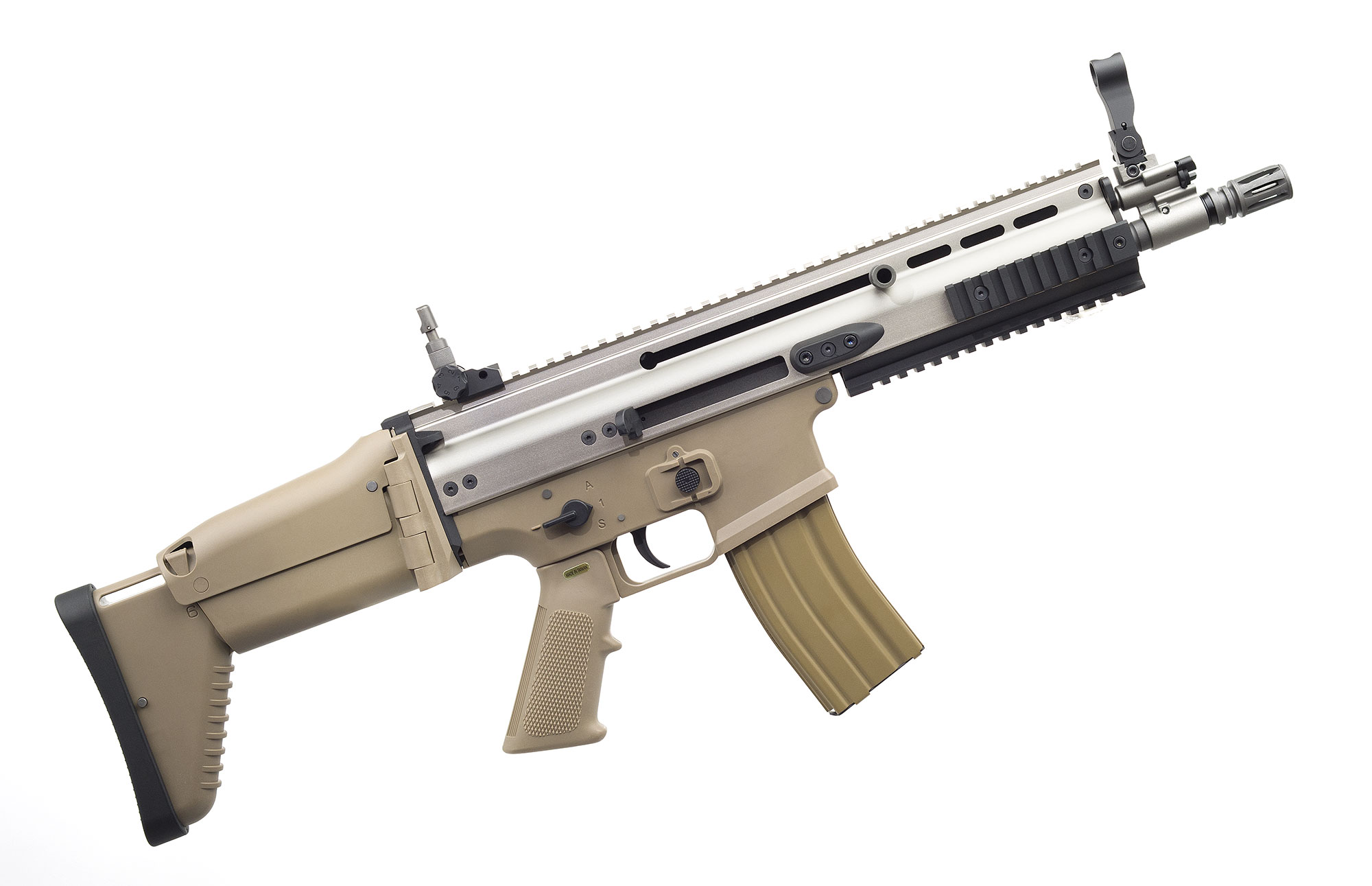 WE SCAR-L CQC GBB TAN