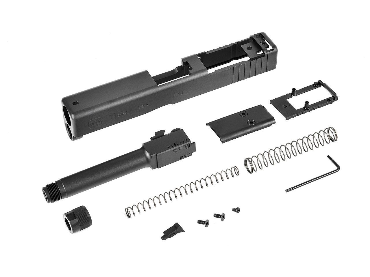 X-Craft MK27 Mod2 コンバージョンキット (アルミCNC/UmarexG19Gen4用)