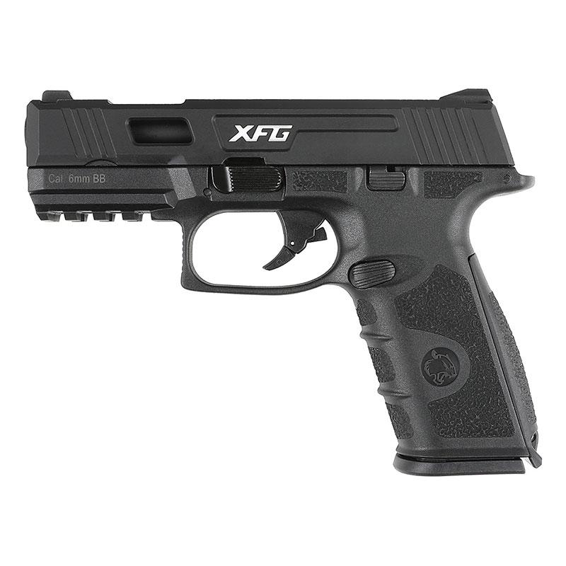 ICS XFG ガスブローバックピストル BK