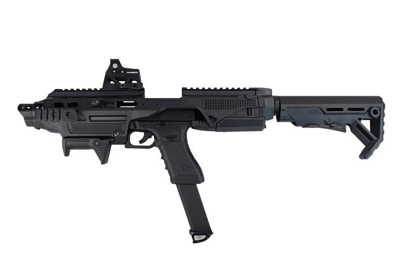 ACE1 ARMS IMI Defense Kidonスタイル モジュラーピストルコンバージョンキットBlack (K1グロックアダプター付属)
