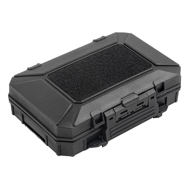 WoSporT コンパクトタクティカルハードケース (19.5×14.5×5.5cm) BK