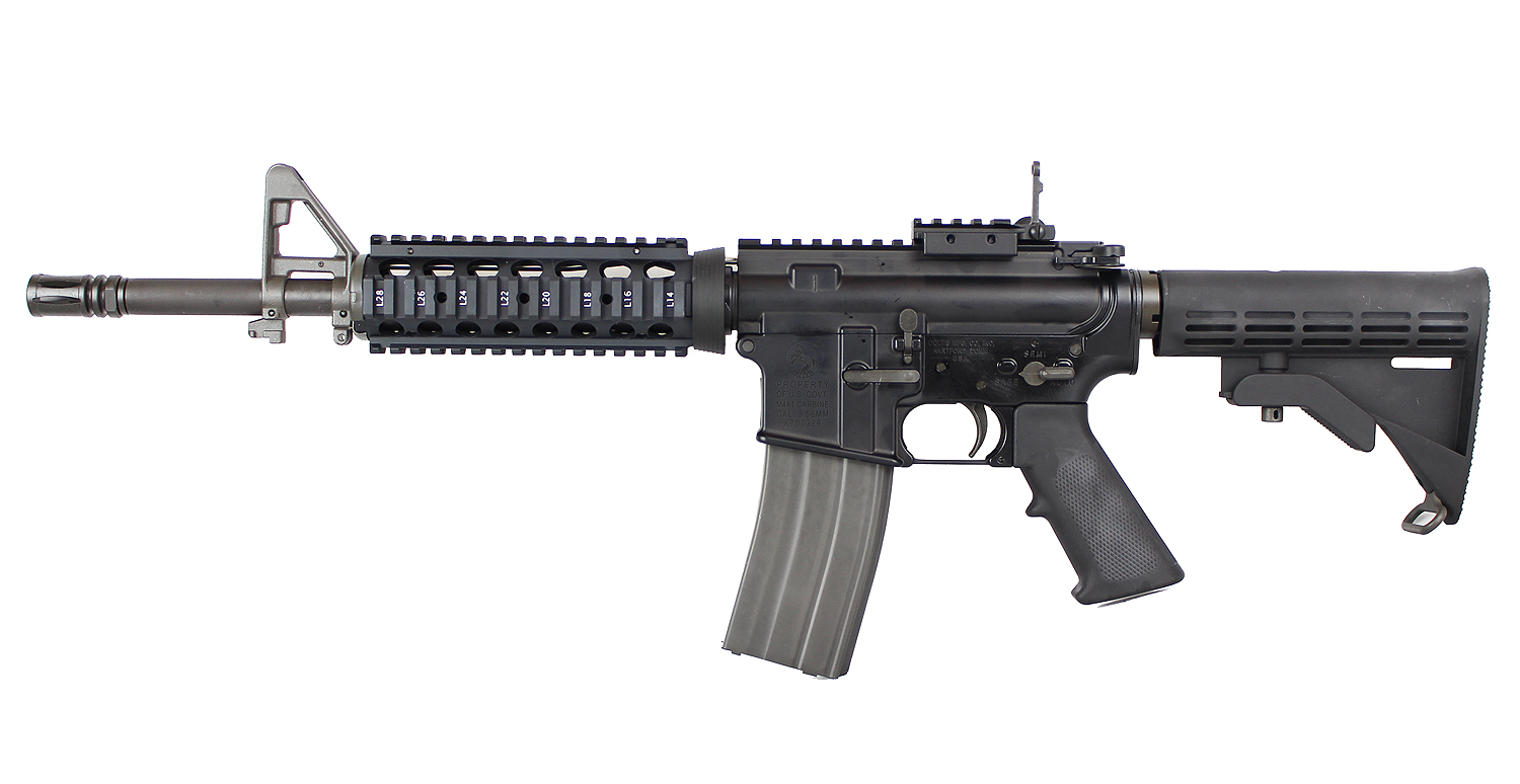GHK M4 Ver2.0 Colt Marking 12.5inch GBBR (2019Ver.)