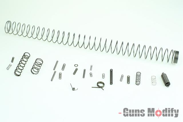 GunsModify レシーバースプリングセット 東京マルイ M4 MWS GBB用
