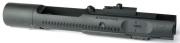 ANGRY GUN マルイM4MWS用 ハイスピード アルミボルトキャリア-SFタイプ/BK