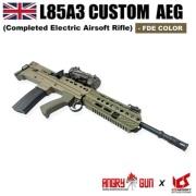 ★送料無料★【JPバージョン】 Angry Gun/ICS L85A3 AEG FDE