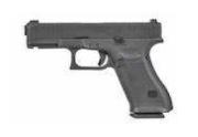 Umarex GlockAirsoft G45 GBBハンドガン (BK) [2.6470-UXA]