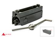 RA-TECH CNC スチールボルトキャリア + マグネティックロックNPAS内蔵 強化樹脂ノズルセット WE SCAR-H対応 (RAG-WE--293)