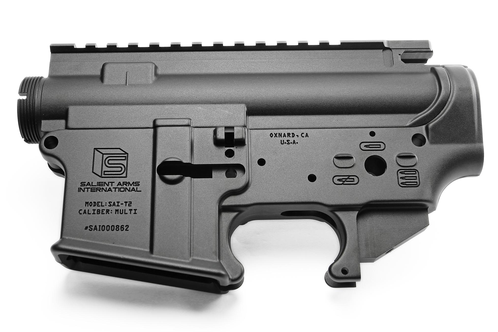 RA-TECH 鍛造アルミレシーバーセット Salient Arms International Ver.(RAG-WE--223)