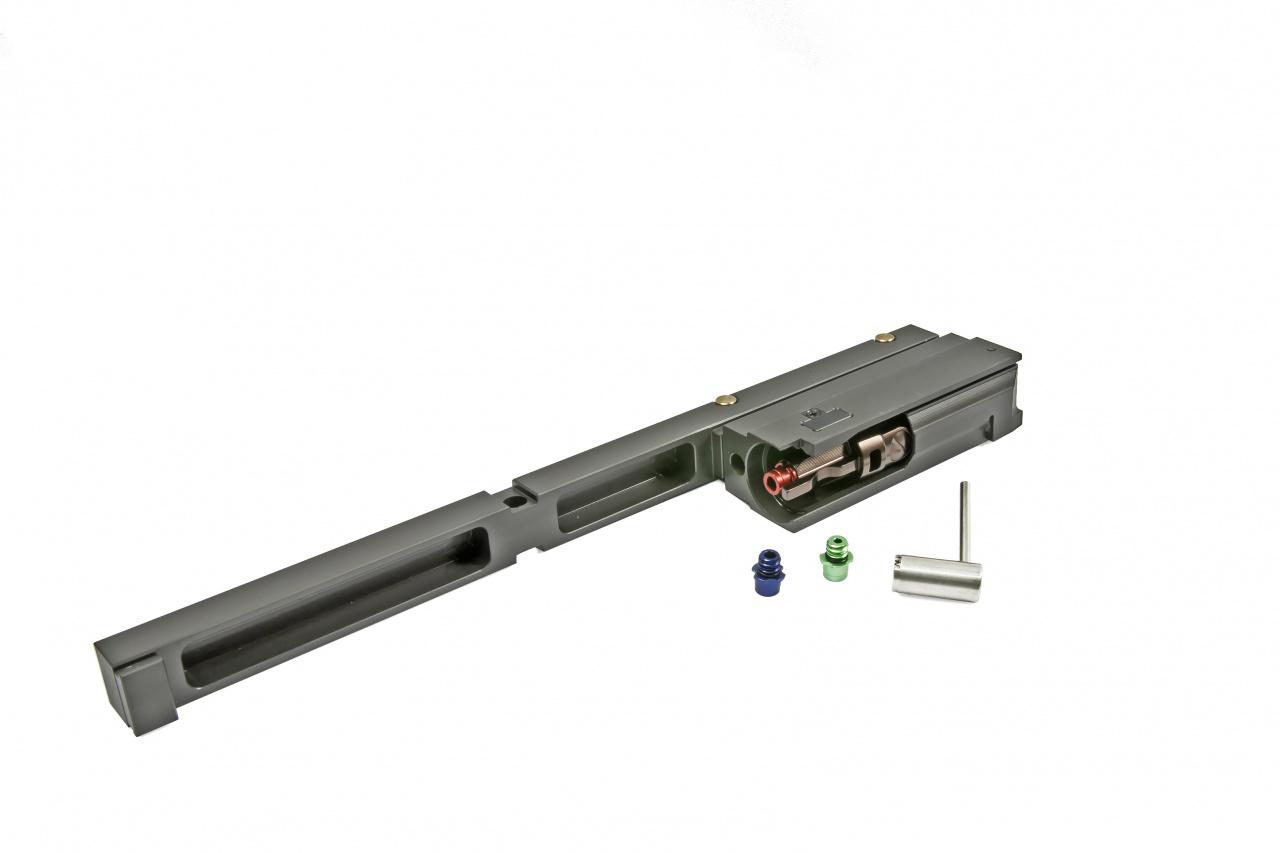 RA-TECH スチール CNC コンプリートボルトキャリア マグネティックロック アルミローディングノズルVer. WE SCAR-L/H対応 (RAG-WE-256)