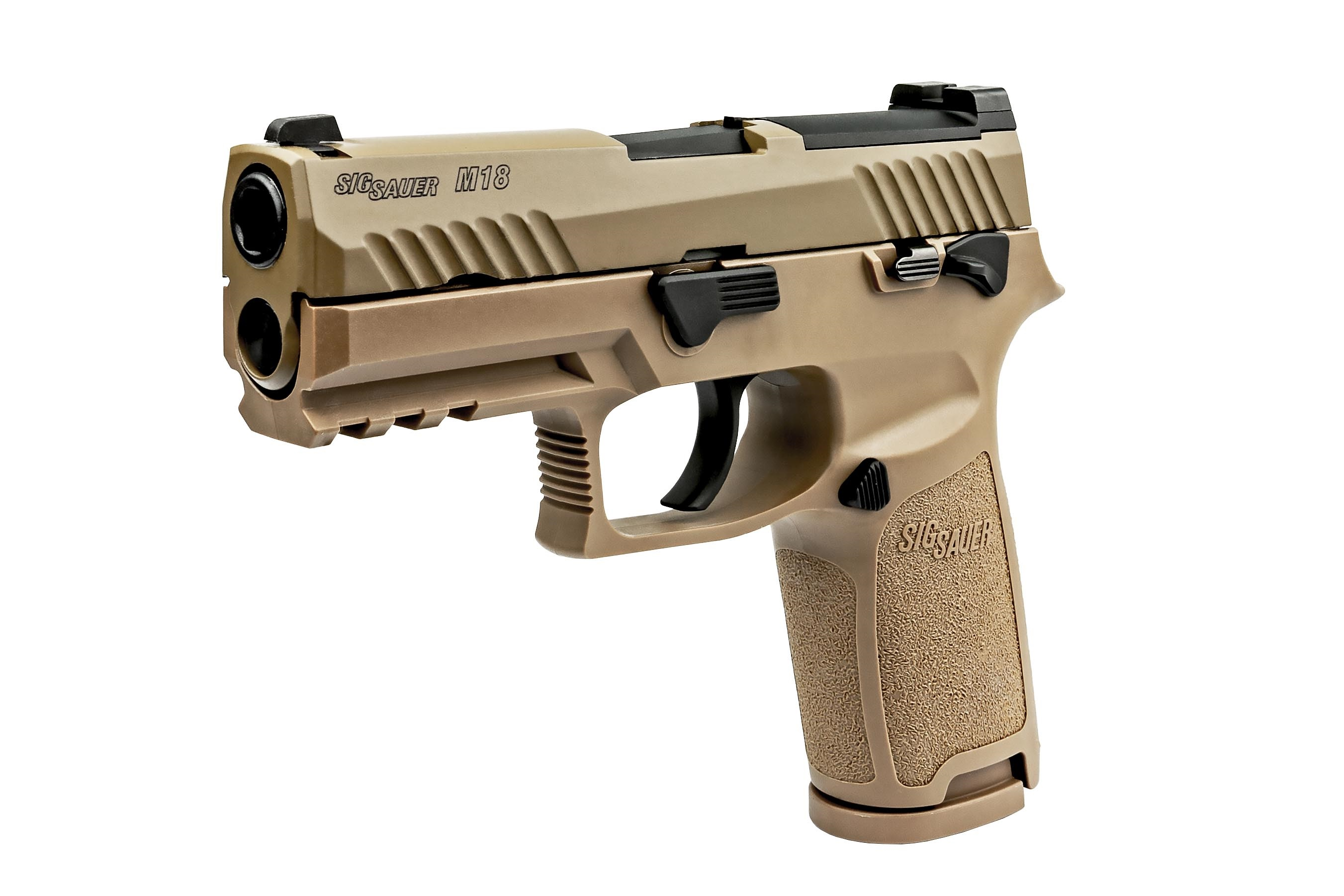 SIG Airsoft/Umarex P320-M18 ガスブローバックピストル (Official Licensed)