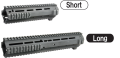 Angry Gun M4 L119A2タイプ レイルハンドガード KSC/VFC GBB M4 対応