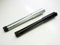 Lakeタイプ アルミアウターバレル(正ネジ14mm) マルイ MEU GBB対応(BK/SV)