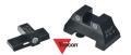 DETONATOR 東京マルイ USP/USP Compact対応 Trijicon HK-08タイプ スチール フロント/リアサイトセット